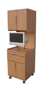 床頭台+液晶テレビ